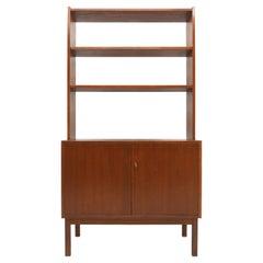 1960s Teak Bookcase Cabinet, Denmark