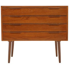 1960s Teak Chest of Drawers, Denmark