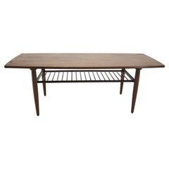 1960s Teak Coffee Table, Denmark