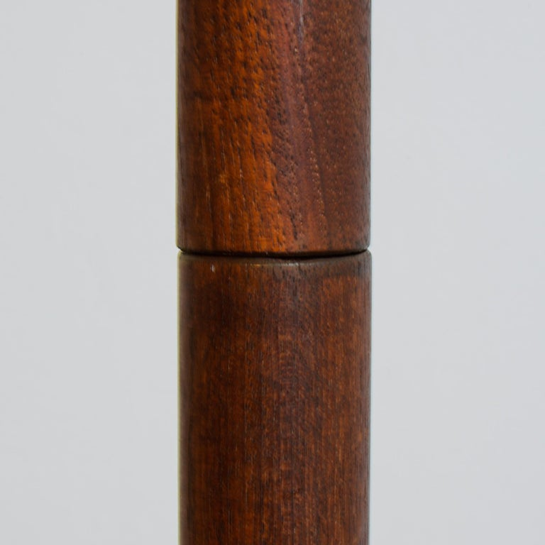 Mid-Century Modern 1960s Teak Danish Floor Lamp For Sale