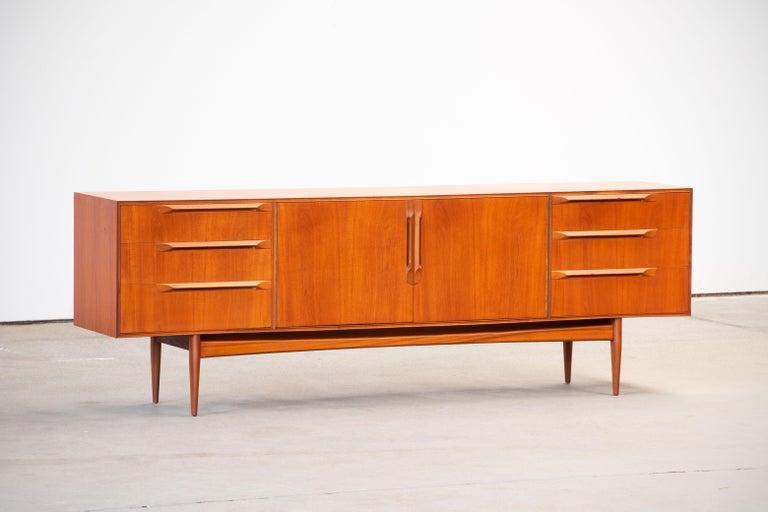 British 1960s Teak McIntosh Sideboard For Sale