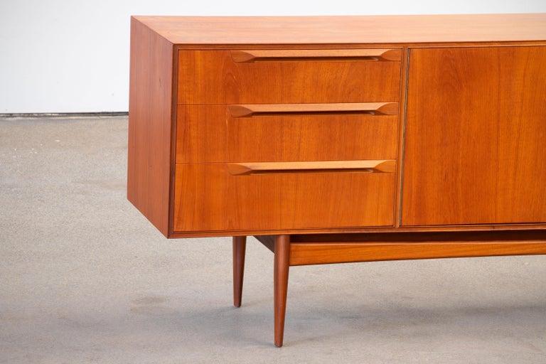Veneer 1960s Teak McIntosh Sideboard For Sale