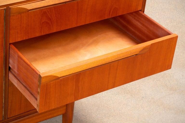 1960s Teak McIntosh Sideboard For Sale 1