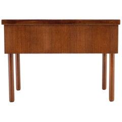 1960s Teak Sewing Cabinet