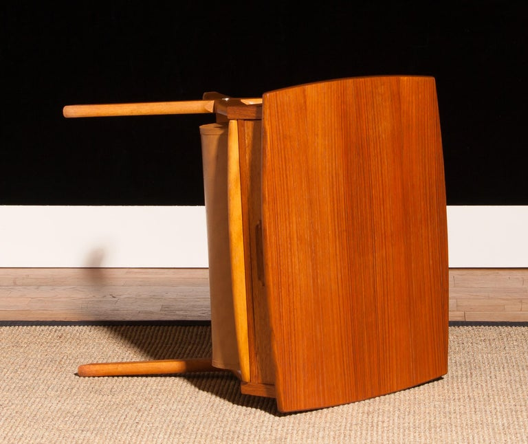 1960s, Teak Sewing, Side Table from Sweden For Sale 3