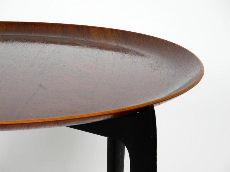 1960s Teak Side Table by Svend Age Willumsen & Hans Engholm for Fritz Hansen For Sale 6