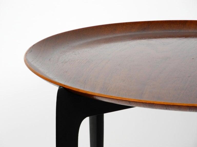 1960s Teak Side Table by Svend Age Willumsen & Hans Engholm for Fritz Hansen For Sale 7