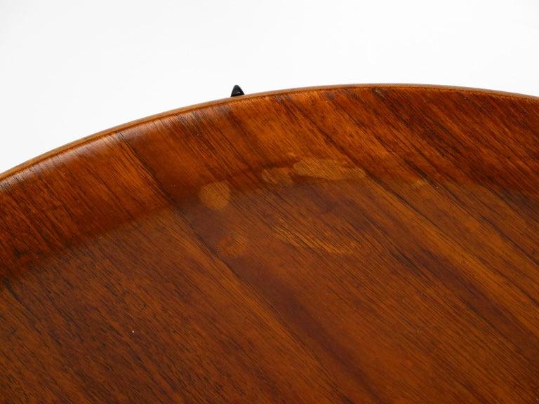 1960s Teak Side Table by Svend Age Willumsen & Hans Engholm for Fritz Hansen For Sale 11