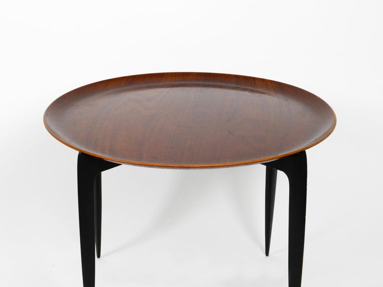 Mid-Century Modern 1960s Teak Side Table by Svend Age Willumsen & Hans Engholm for Fritz Hansen For Sale