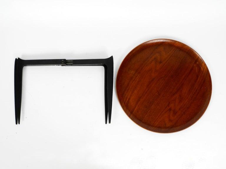 Danish 1960s Teak Side Table by Svend Age Willumsen & Hans Engholm for Fritz Hansen For Sale