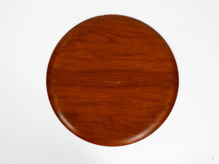 1960s Teak Side Table by Svend Age Willumsen & Hans Engholm for Fritz Hansen In Good Condition For Sale In München, DE