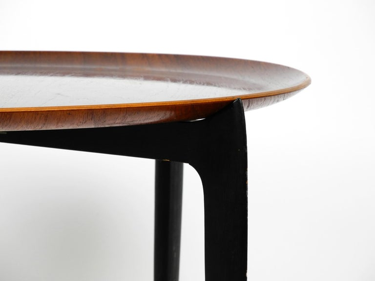1960s Teak Side Table by Svend Age Willumsen & Hans Engholm for Fritz Hansen For Sale 2