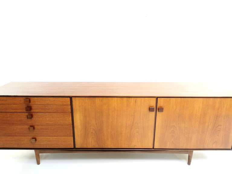 1960s Teak Sideboard by Ib Kofod Larsen For G Plan Midcentury In Good Condition In STOKE ON TRENT, GB