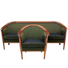 1960s Teak Sofa and Armchair by Andersson