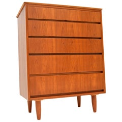 1960s Teak Vintage Chest of Drawers