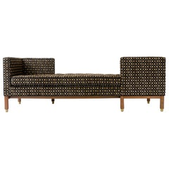 1960s Tete a Tete Conversation Sofa by Edward Wormley for Dunbar