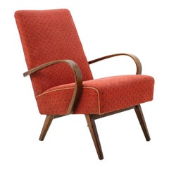 1960s Thon/Thonet Bentwood Lounge Chair