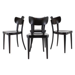 1960s Thon/Thonet Dining Chairs, Set of 4