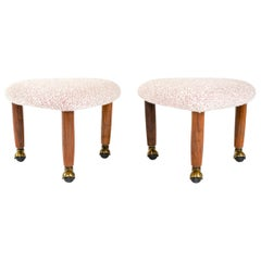 1960s Three-Legged Stool by Adrian Pearsall for Craft Associates