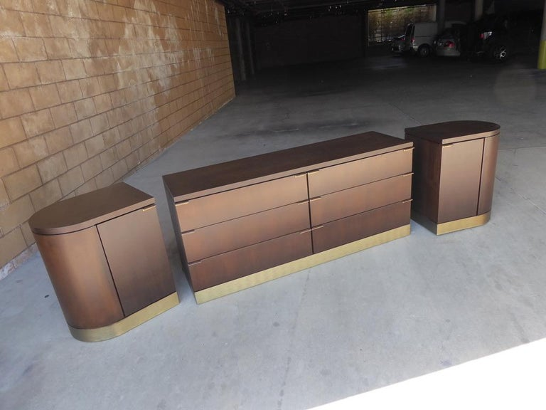 1960s Three-Part Credenza by Milo Baughman for Glenn of California For Sale 6