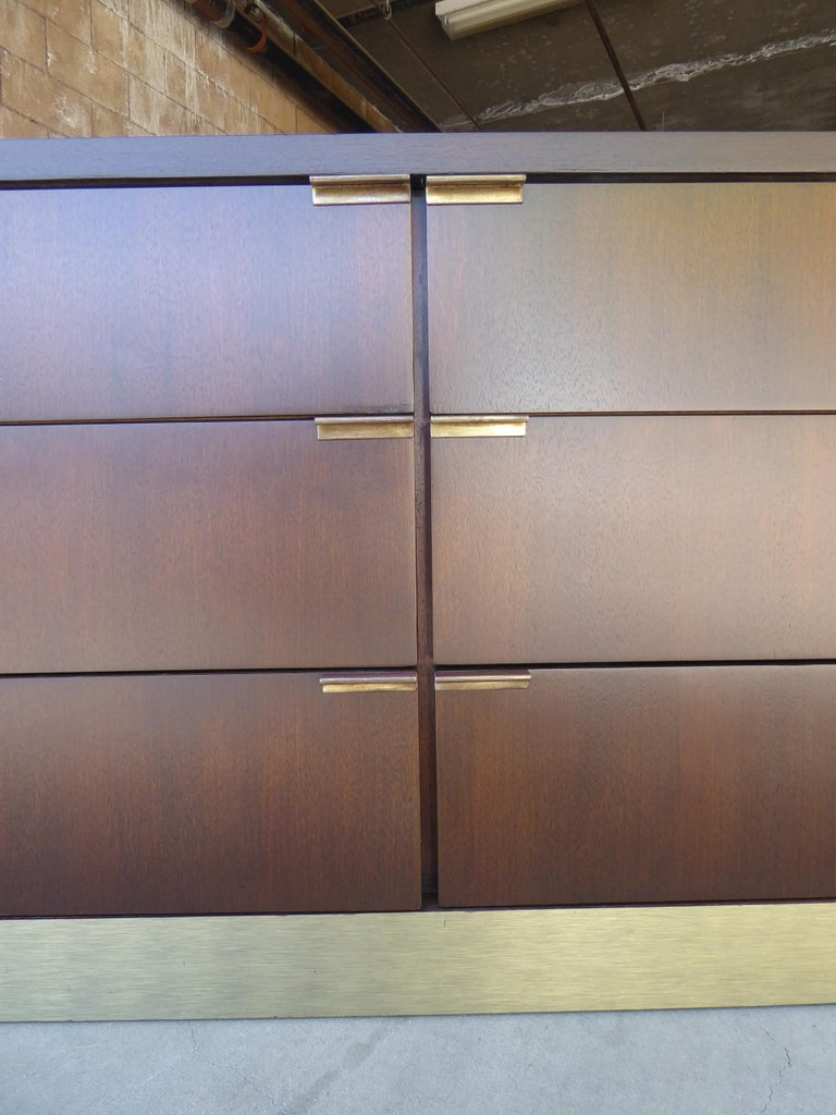 1960s Three-Part Credenza by Milo Baughman for Glenn of California For Sale 9