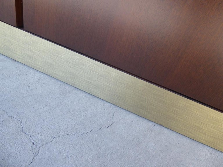 1960s Three-Part Credenza by Milo Baughman for Glenn of California For Sale 12