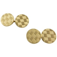 1960s Tiffany & Co. Double-Sided Yellow Gold Cufflinks