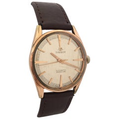 1960s TISSOT Automatic Seastar Gold-Plated Vintage Watch