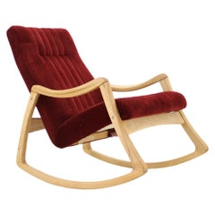 1960s Ton Rocking Chair, Czechoslovakia