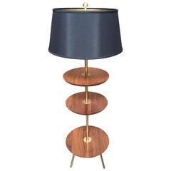 1960s Tri-Level Floor Lamp