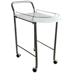 1960s Two-Tier French Bar Cart