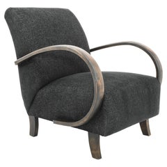 1960s Upholstered Armchair by Jindrich Halabala