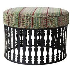 1960s Upholstered Ottoman