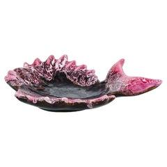 1960s Vallauris Ceramic Dish