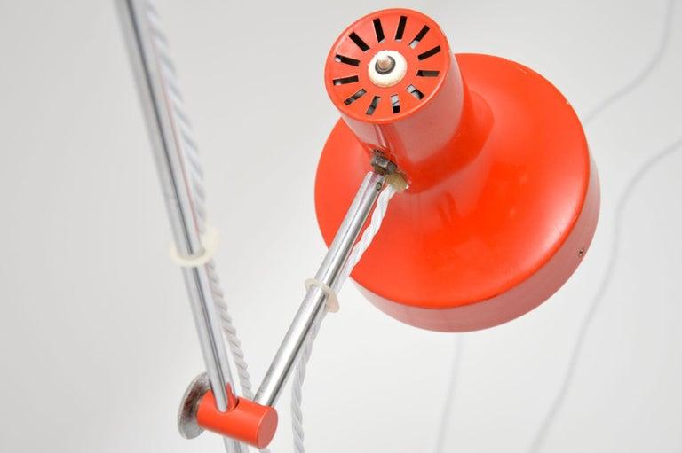 1960s Vintage Adjustable Floor Lamp For Sale 2