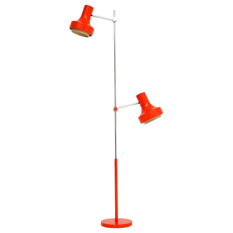 1960s Vintage Adjustable Floor Lamp For Sale