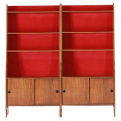 1960s Vintage Bookcase with Modular Structure