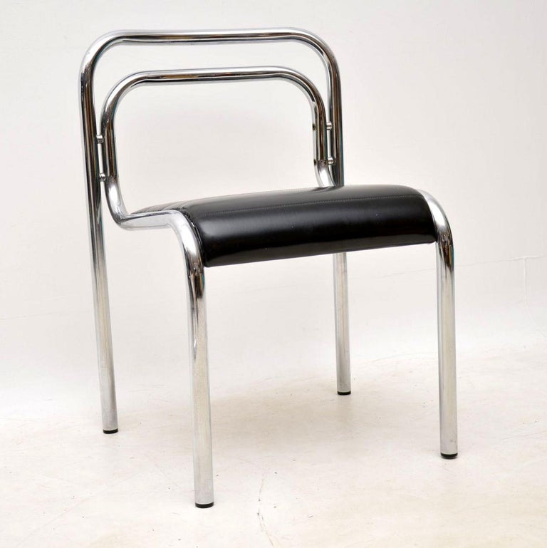 1960s Vintage Chrome Dining Table And Chairs By Rodney Kinsman For Omk For Sale At 1stdibs