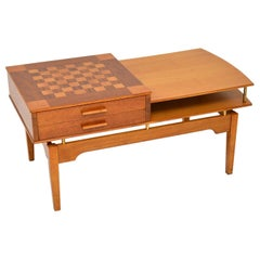 1960s Vintage Coffee / Games Table