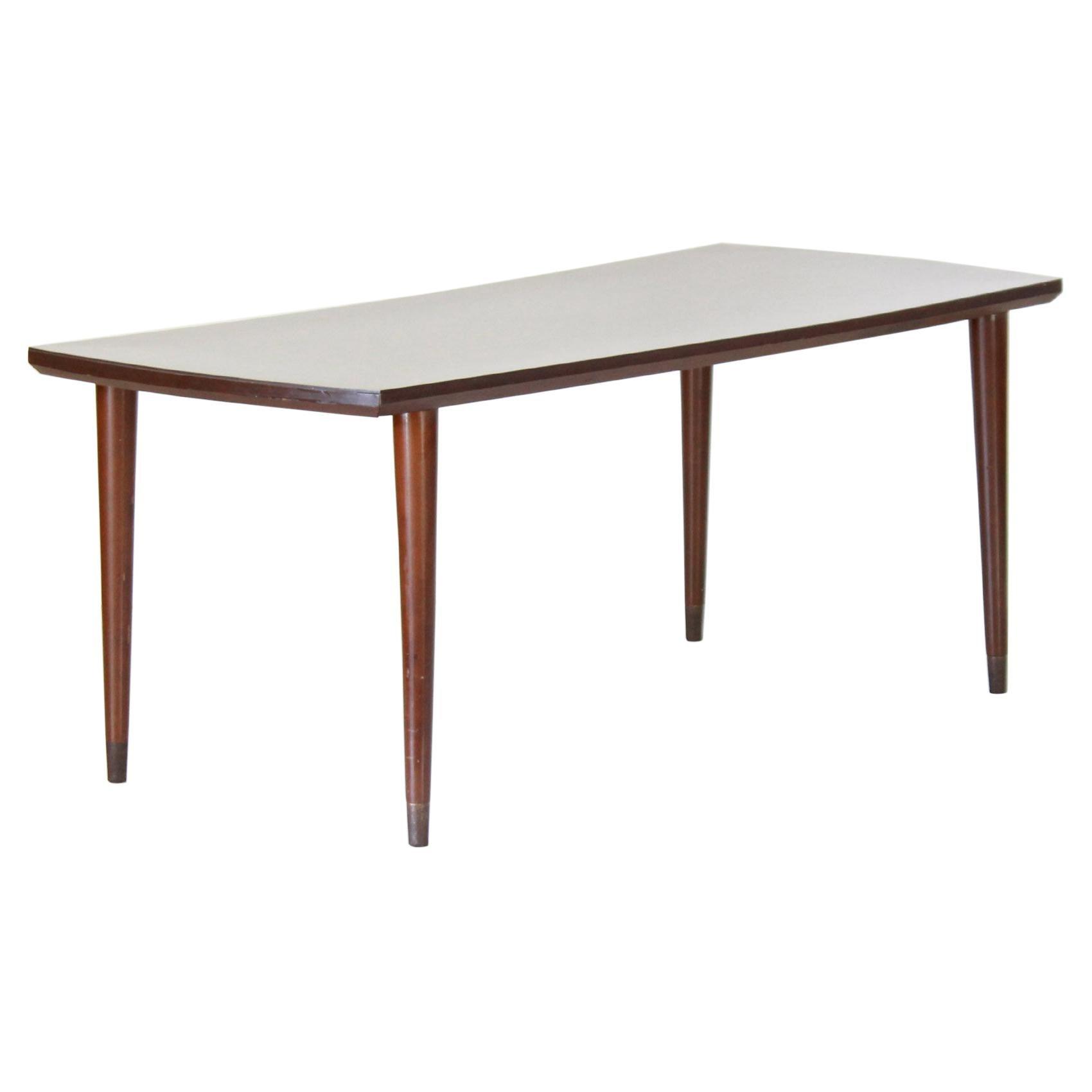 1960s Scandinavian Vintage Wood Coffee Table
