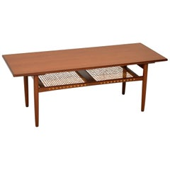 1960s Vintage Danish Teak Coffee Table