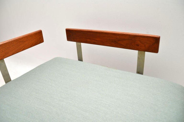 1960s Vintage Danish Teak Daybed/Sofa by Ib Kofod Larsen For Sale 6