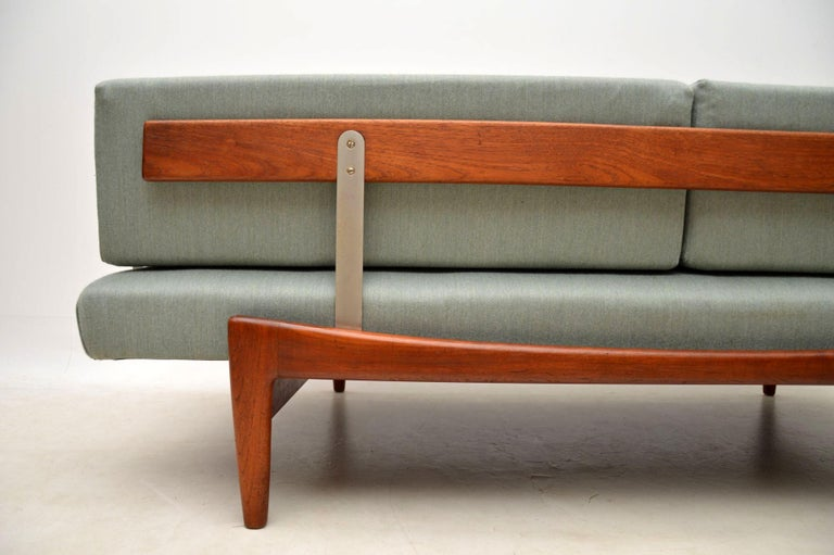 1960s Vintage Danish Teak Daybed/Sofa by Ib Kofod Larsen For Sale 7