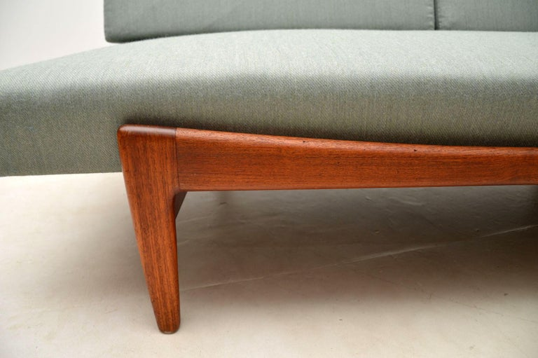 1960s Vintage Danish Teak Daybed/Sofa by Ib Kofod Larsen For Sale 8
