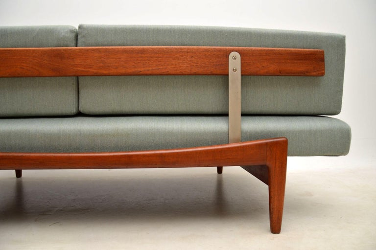 1960s Vintage Danish Teak Daybed/Sofa by Ib Kofod Larsen For Sale 9