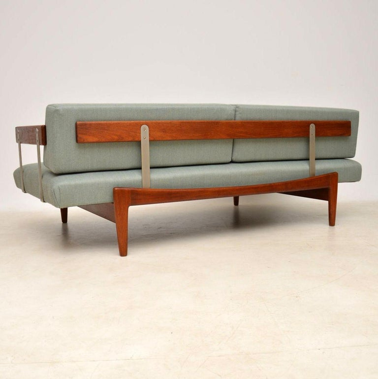 1960s Vintage Danish Teak Daybed/Sofa by Ib Kofod Larsen For Sale 1