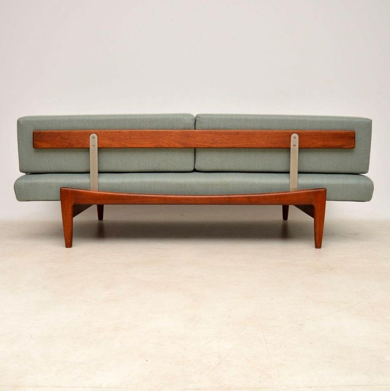 1960s Vintage Danish Teak Daybed/Sofa by Ib Kofod Larsen For Sale 2