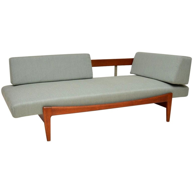 1960s Vintage Danish Teak Daybed/Sofa by Ib Kofod Larsen For Sale