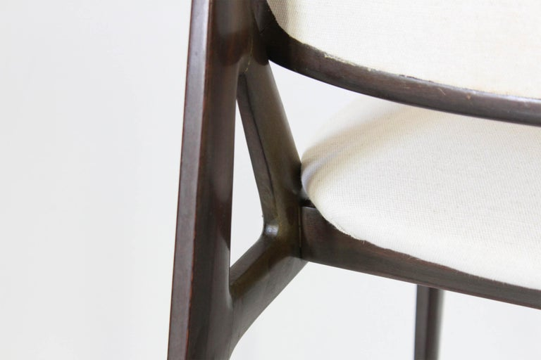 1960s Vintage Dining Chairs by Vittorio Dassi, Set of Six 3