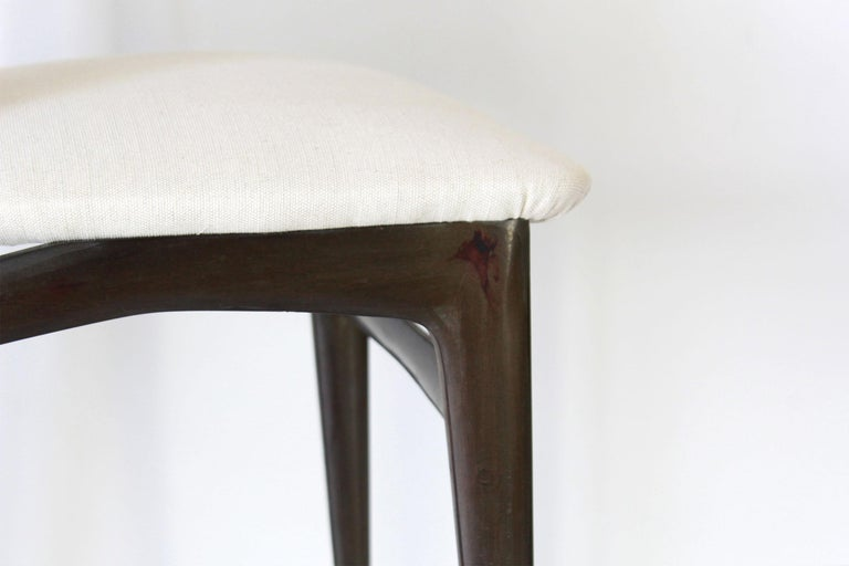 1960s Vintage Dining Chairs by Vittorio Dassi, Set of Six 7